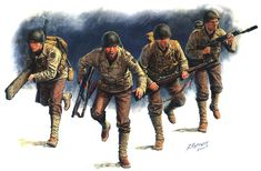 Red Infantry Division one during the amphibious operation held on June 6, 1944 in Normandy.