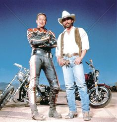 harley davidson and the marlboro man always a good biker movie.