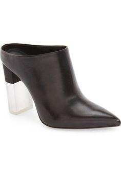 'Capri' Pointy Toe Mule (Women)