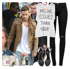 """""""idk."""" by martii-alcaraz-14 ❤ liked on Polyvore featuring J Brand, Payne, Yves Saint Laurent, Essie, PEONY and Sparkling Sage"""