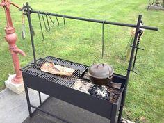 New Backyard Grill Diy Green Eggs Ideas Diy Gazebo, Backyard Gazebo, Dutch Oven Cooking, Cast Iron Cooking, Outdoor Food, Outdoor Cooking, Diy Grill, Grill Oven, Big Green Egg Grill