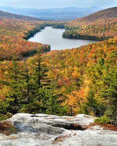 Autumn colors, Groton State Forest as viewed from Owls Head, Vermont New Hampshire, Rhode Island, Vermont, The Places Youll Go, Places To See, Beautiful World, Beautiful Places, Simply Beautiful, New England States
