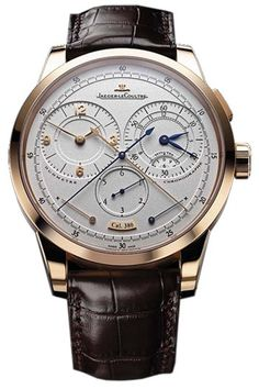 Jaeger-LeCoultre Duometre and Chronograph Mens Wristwatch Model: Q6012420