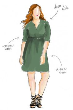 Dressing an Apple Shape: Apple-shaped bodies are those who carry their weight around their middle. They typically have a large bust and thin...