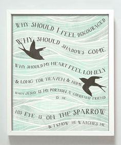 Sparrow Print #zulily #zulilyfinds