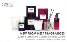 Super Sexy New Scent From Nest | Japanese Black Currant - Bon Bougie