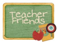 Has several links to other teacher blogs!