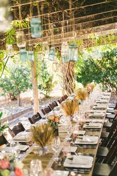Very Cute Shabby Chic Wedding Set Up At Bernardus Lodge Spa Click