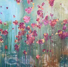 ...abstract art by sonja blaess...petit jardin...2917..