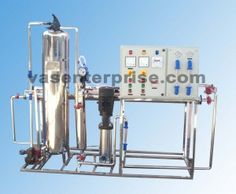 Industrial reverse osmosis (R.O) plant manufactured by VAS Enterprise. We are the reputed dealer of range of RO systems for industry.