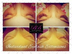 Volume lashes and individual eyelash extensions by Beaute Boutique