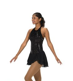 Jerry's Figure Skating Dress 224 - Ritz & Glitz (Black)