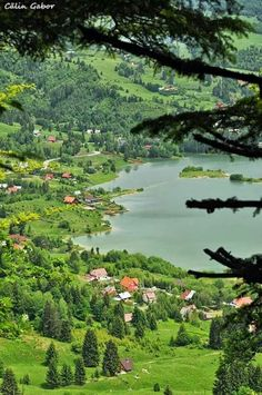 Scenic view of Colbijita Lake Romania Bulgaria, Places To Travel, Places To See, Wonderful Places, Beautiful Places, Travel Around The World, Around The Worlds, Visit Romania, Romania Travel