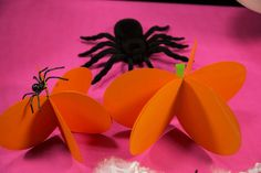 Abobora de papel 3D para decorar a sua festinha Halloween (Dia das Bruxas). para decorar nas festas do Dia das Bruxas (Halloween). Decoração para crianças.   #manualidades #diy #artesanato #handcraft #halloween #diadasbruxas