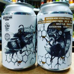 Smoking Bees - 10% Imperial Whisky Honey Porter - part of the Patrons Project from @northernmonkbrewco & @atgbrewery available now