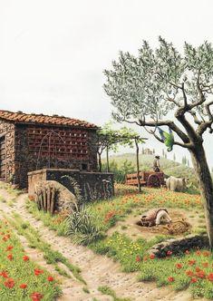 çizgili masallar: The Adventures of Pinocchio by Roberto Innocenti - Part 3