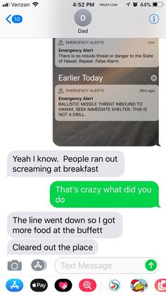 #FunnyTexts About Emergency Alert