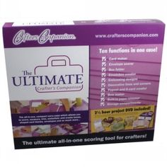 Ultimate Crafter's Companion  To find out more go here:  http://www.amazon.com/gp/product/B002NYB9BK/ref=as_li_ss_tl?ie=UTF8=1789=390957=B002NYB9BK=as2=httpwwwpossen-20