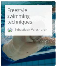 Learn how to swim freestyle from a pro.  #Swimming #Freestyleswimming