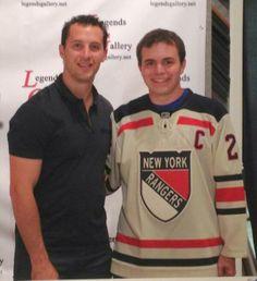 Twitter fan  arwisneski is thankful for the New York Rangers and Ryan  Callahan.   41b4375b9