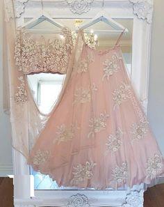 Traditional Wear Lengha Blouse Designer Net Silk Lehenga Indian Bridal Choli is part of Asian wedding dress - Lehenga Style, Pink Lehenga, Lehenga Choli, Anarkali, Lehnga Dress, Bollywood Lehenga, Abaya Style, Indian Dresses, Indian Outfits