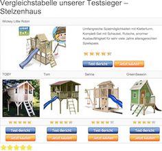 Stelzenhaus Testsieger - Vergleichstabelle und Tests › www.kinderspielhaus-stelzenhaus.com