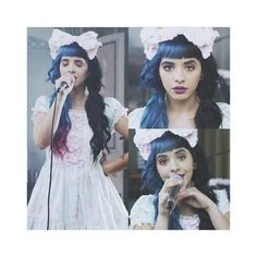 Cry Baby Out Now! ❤ liked on Polyvore featuring people, hair and melanie martinez