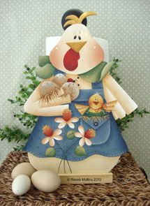 #ep157  Spring Chicken (Downloadable e-pattern)