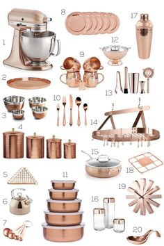 5 Must-Install Kitchen Decorative Accessories More ideas: DIY Rustic Kitchen Decor Accessories Marble Kitchen Accessories Ideas Farmhouse Kitchen Storage Accessories Modern Kitchen Photography Accessories Sweet Copper Kitchen Gadgets Accessories Copper Kitchen Accessories, Home Decor Accessories, Decorative Accessories, Copper Kitchen Accents, Copper Appliances Kitchen, Copper In Kitchen, Copper Kitchen Utensils, Red Kitchen, Decorating Kitchen
