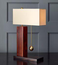 Brass Ball Series, One-Way Table Lamp – Blackman Cruz