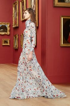 Erdem Pre Fall 2015. I live for long flowing maxi dresses especially floral - DH