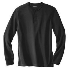 Merona® Men's Thermal Henley - Assorted Colors