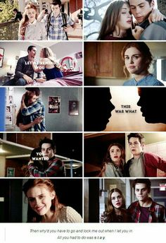 """""""Let me remind you, this was what you wanted."""" #LydiaAndStiles #TaylorSwiftLyrics #AllYouHaveToDoWasStay"""