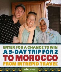 Join Our 2013 Prosperity Campaign and Enter to Win a Trip to Morocco! #wholeplanet #microcredit #microfinance #morocco #giveaway