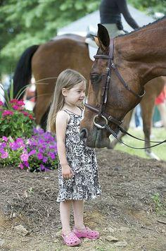 """""""telling stories @ Upperville Colt & Horse Show © Isabel Kurek"""