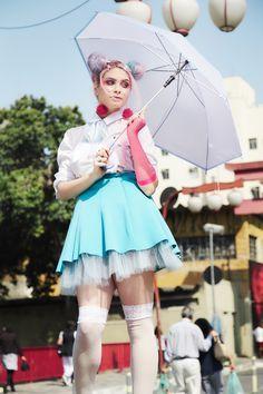 Resultado de imagem para harajuku editorial de moda Harajuku, Candy Colors, Kawaii Doll, Style, Fashion, Fashion Editorials, Swag, Moda, Fashion Styles