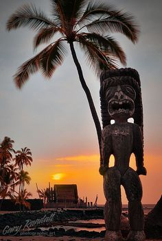 Pu?uhonua O Honaunau National Historical Park, Big Island of Hawai?i � Also known as Place of refuge, this is one of our favorite places of Old Hawai?i. Serene, peaceful, beautiful. A taste of history ancient culture with the beautiful Pacific as a backdrop.
