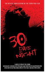 30 Days of Night Movie Novelization by Tim Lebbon