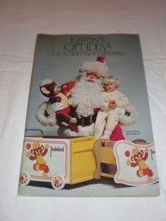 Eatons T Eaton Co 1976 Christmas Catalogue Retro Christmas, Xmas, Disney Christmas Decorations, Toy Catalogs, Christmas Catalogs, True North, Winter Time, Teddy Bears, Magazine Covers