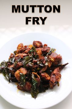 Spicy and delicious mutton fry which is melt in mouth and crispy at the same time. This taste so yummy with plain rasam rice or as a appetizer. Chicken Starter Recipes, Veg Recipes, Curry Recipes, Lunch Recipes, Indian Food Recipes, Dinner Recipes, Cooking Recipes, Chicken Recipes