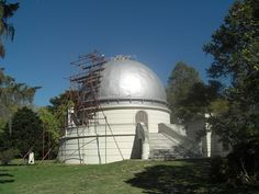 La Plata Observatory, southeast of Buenos Aires. established in the late 1800's at University of La Plata.
