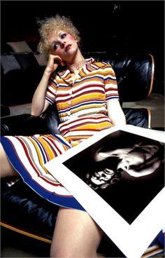 Photo by Jean Loup Sieff 1972  Dress Yves Saint Laurent  Vogue Italia, June 1972