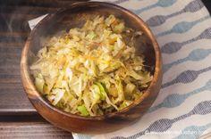 cabbage friend rice