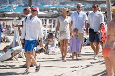 MyRoyals:  Swedish Royal Family in St. Tropez, August 2015-Prince Daniel, Crown Princess Victoria and Princess Estelle