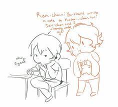 Ren's Love Letter : Told In Comics ~ Part 1 of 3