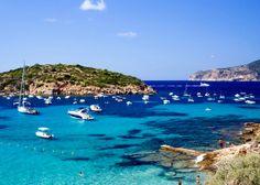 #Balearic #Islands #Majorca. From-above view of fantastic Majorca's sea.