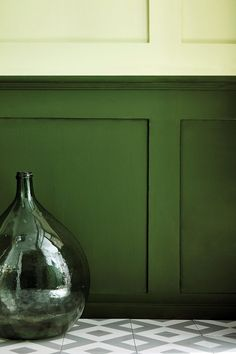 Nuancier de peinture verte pour une décoration tendance