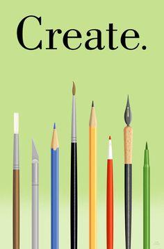 ...create...