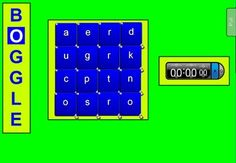 SMARTboard boggle