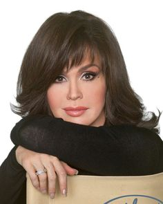 Marie Osmond Medium Straight Formal Hairstyle With Layered